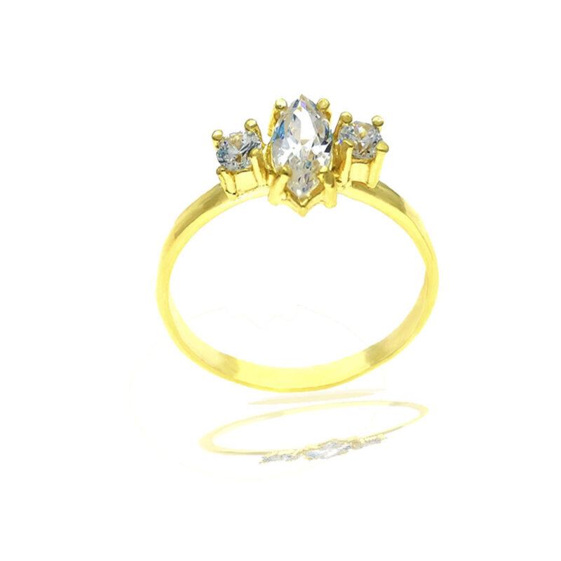 anillo circonitas Marina