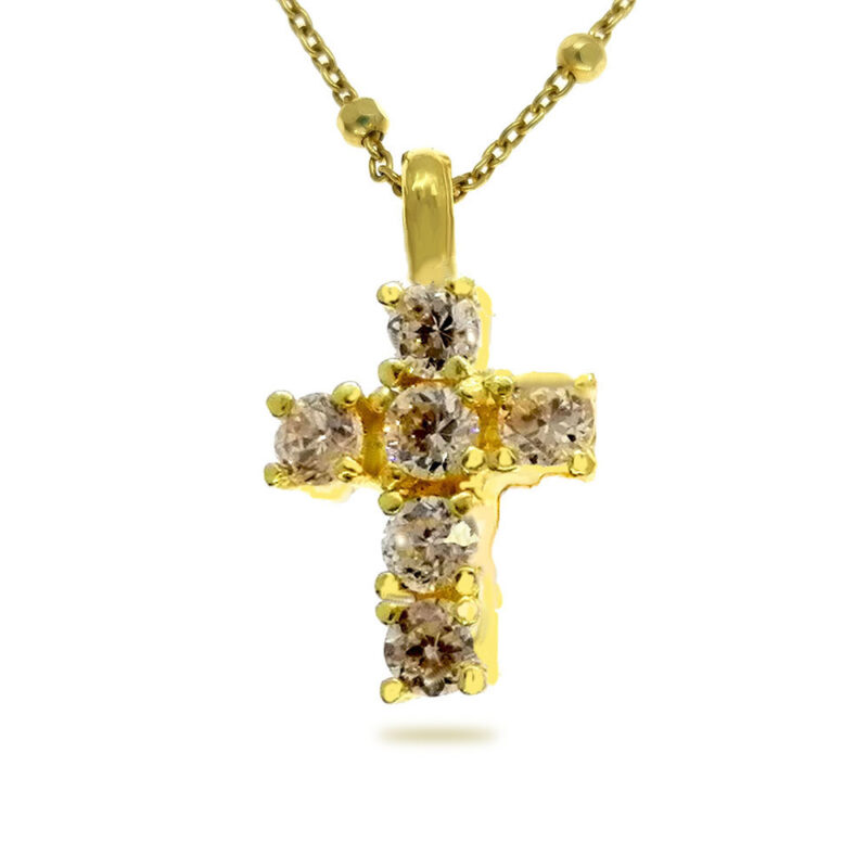 Cruz plata Eternal