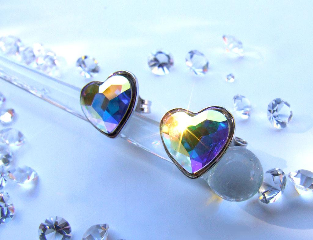 Pendientes corazón plata Heart