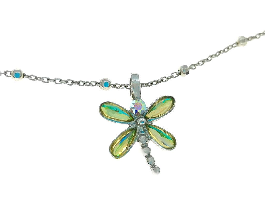 Colgante libélula plata Dragon-Fly