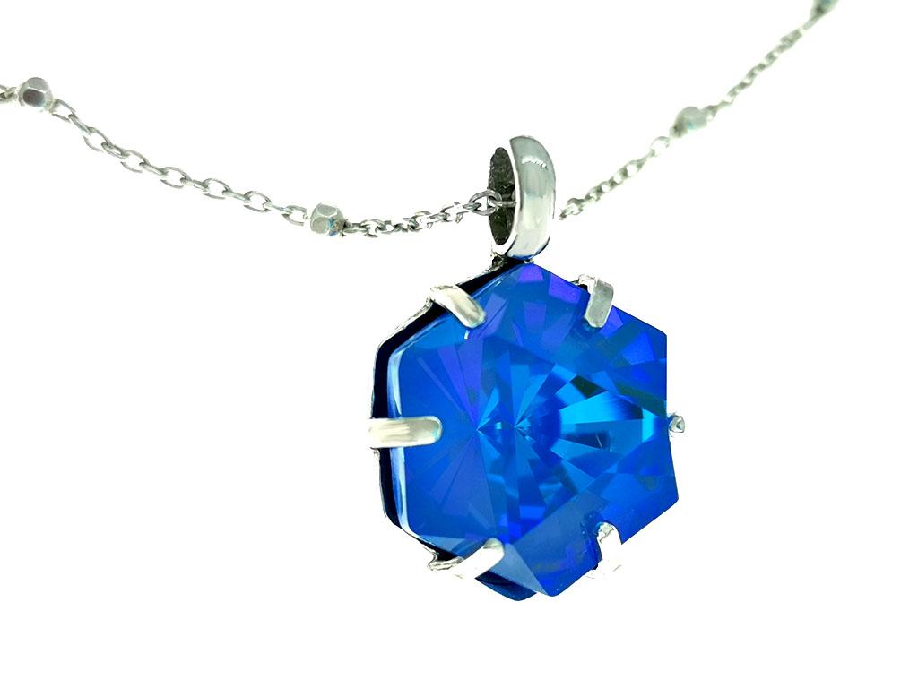 Colgante cristal swarovski plata Joy