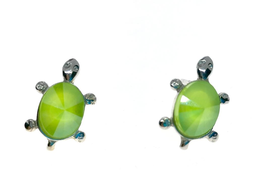 Pendientes tortuga plata Turtle