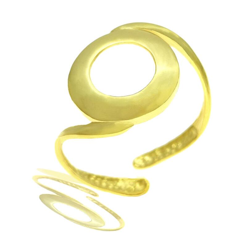 anillo dorado Eclipse