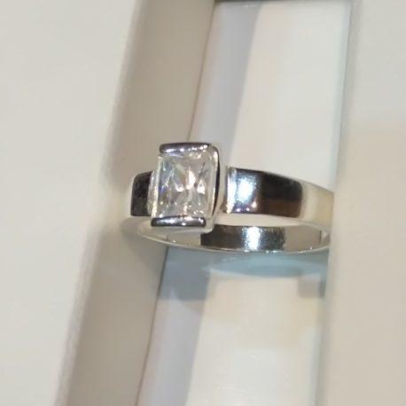 anillo alzoc de plata