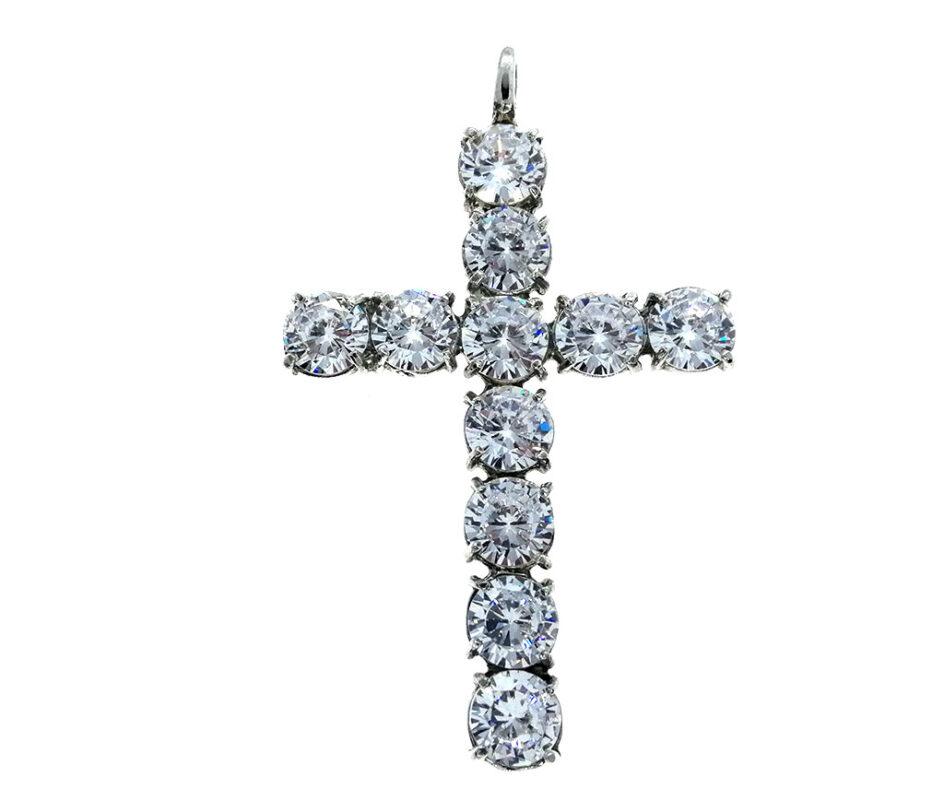 Cruz circonitas plata Alana