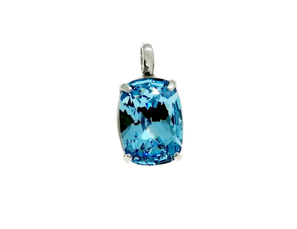 Colgante cristal plata Jews