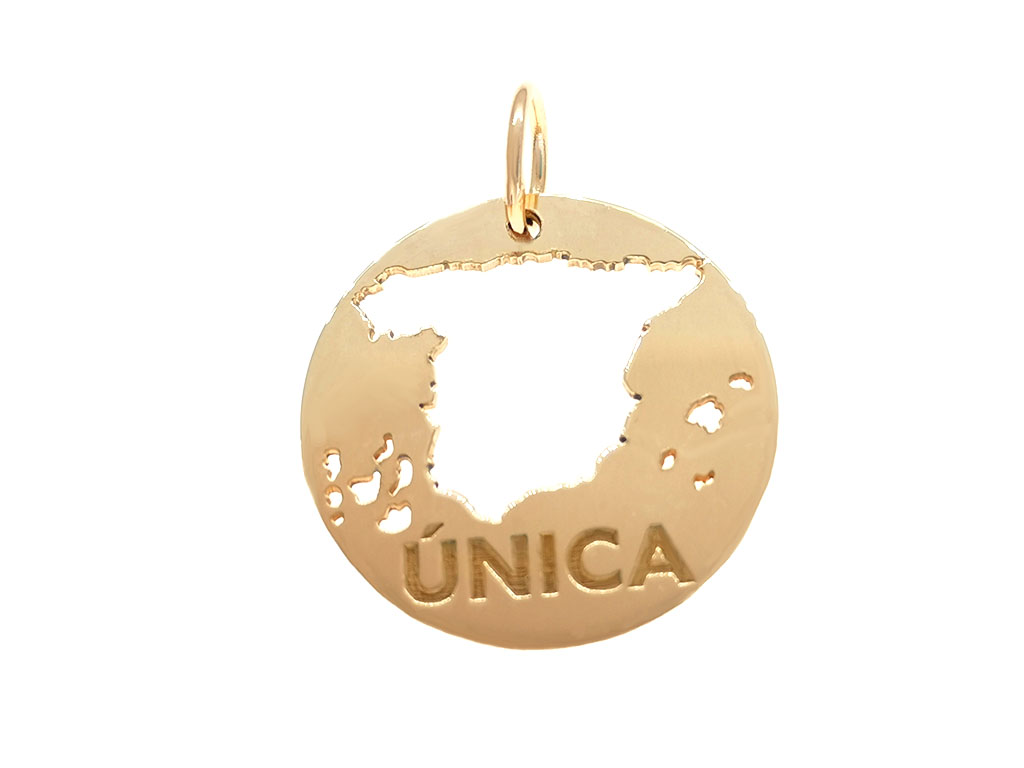 Medalla España Es Única redonda