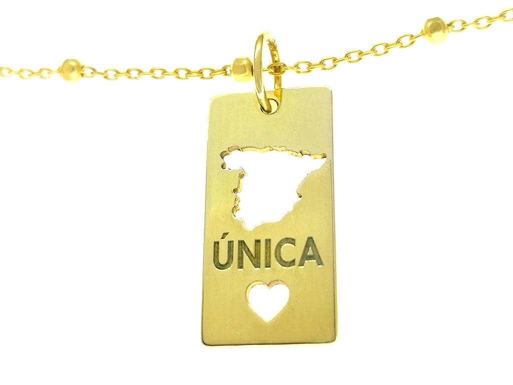 Medalla España Es Única rectangular