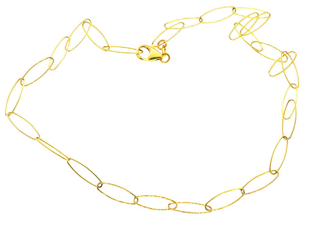 Cadena eslabones dorada Xenia